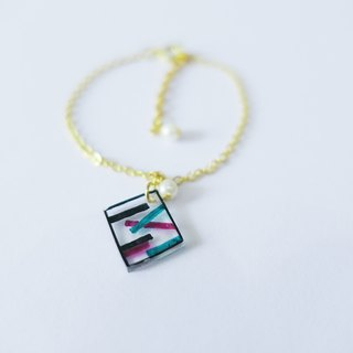 Minimalist Geometric Bracelet - Looking Through The Glass
