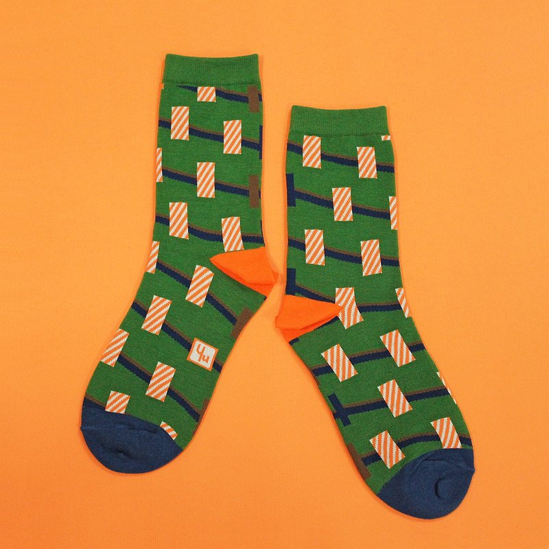 Towers Green Unisex Crew Socks | colorful fun & comfortable socks