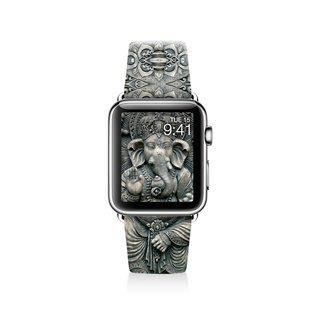 Ganesha Apple watch band, Decouart Apple watch strap S029 (including adapter)