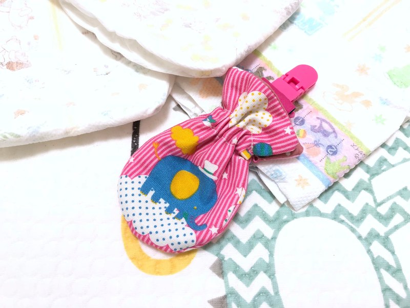 Cute elephant. Pink / small kite peace bag. Pouch bag. Dragon Boat Festival sachet bag. Storage bag