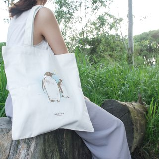【Animal Series】#5 Penguin Totebag (Large)