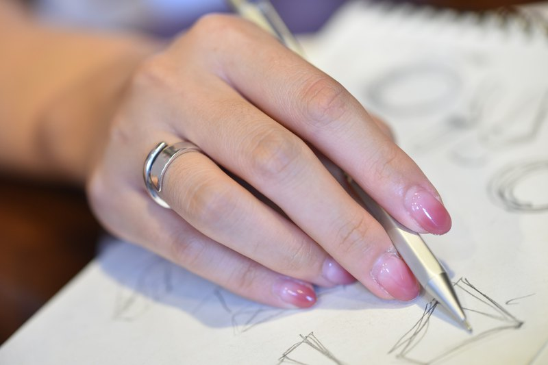 Group-Metalworking Experience Class-DIY Handmade Silver Ring [Starlight Ring]