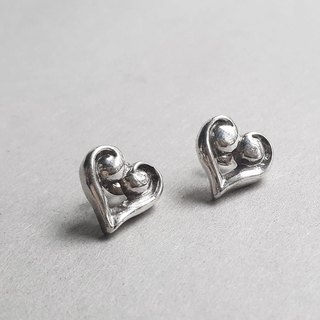 Inclusive Love Silver Earrings / Tremella