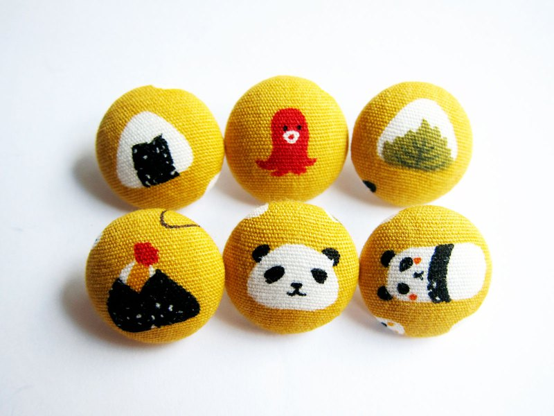 Cloth Knitting Sewing Handmade Material Panda Grip Sushi