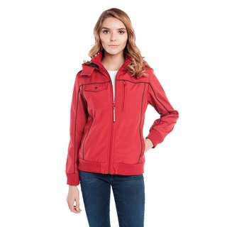 BAUBAX BOMBER multifunction flight jacket (female) - Red