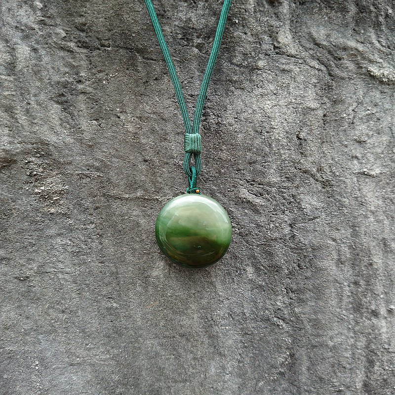 View - Jade necklace - Taiwan design and making