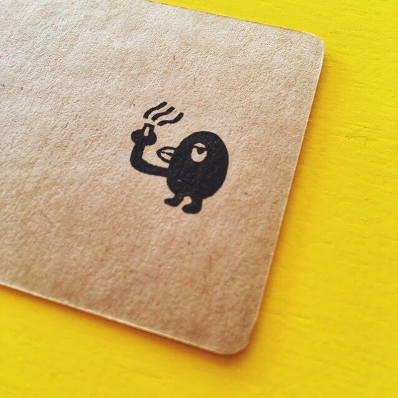 bird01 ・ rubber stamp・ 20mm series