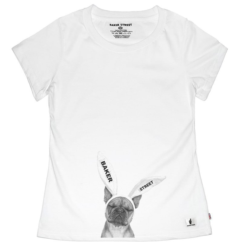 British Fashion Brand -Baker Street- Bunny Bully T-shirt