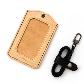 [WILD] | ID Card Holder|Stainless Steel Lanyard Badge