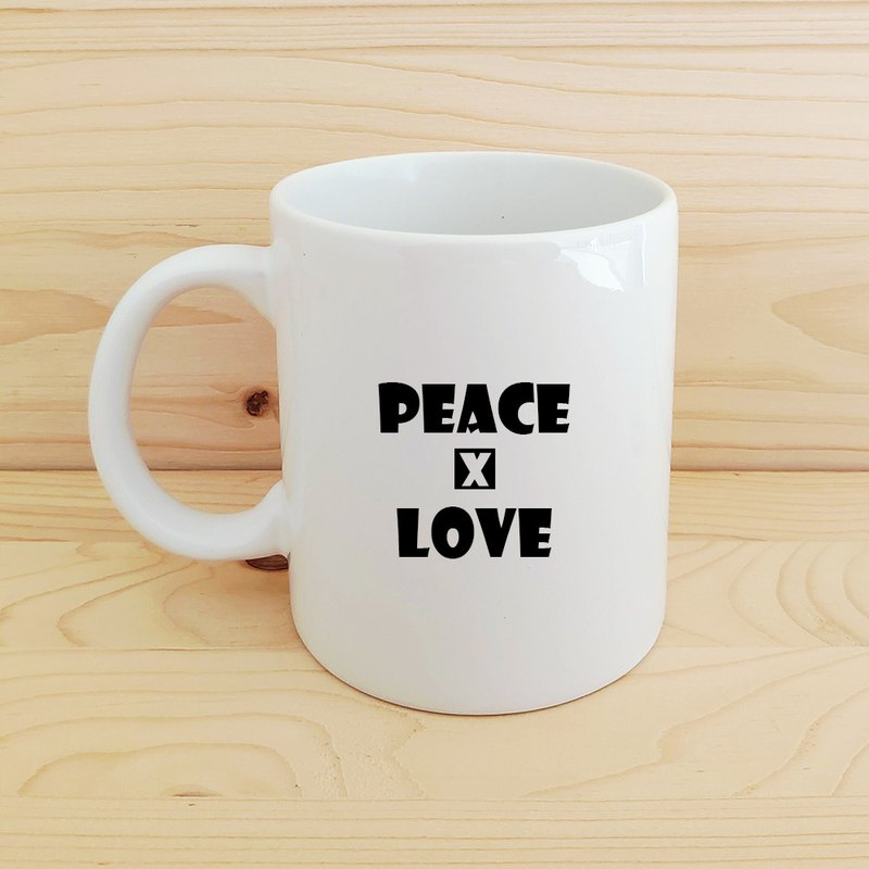 Positive energy mug _peace and love
