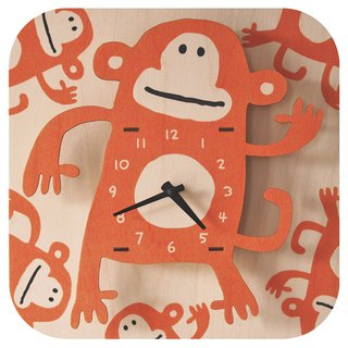 modern moose-3D clock-MONKEY CLOCK