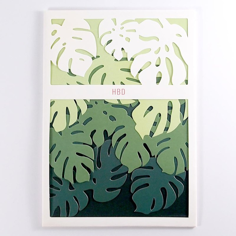Around the simple leaves [Up With Paper Luxe]