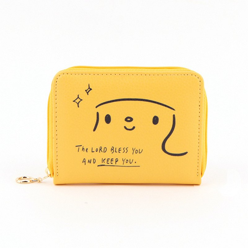 Hello Jenny Story Card Wallet 03 Banana Yellow