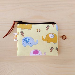 Cute baby elephant coin bag