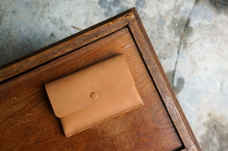Double-layer business card holder / wallet (customizable lettering)
