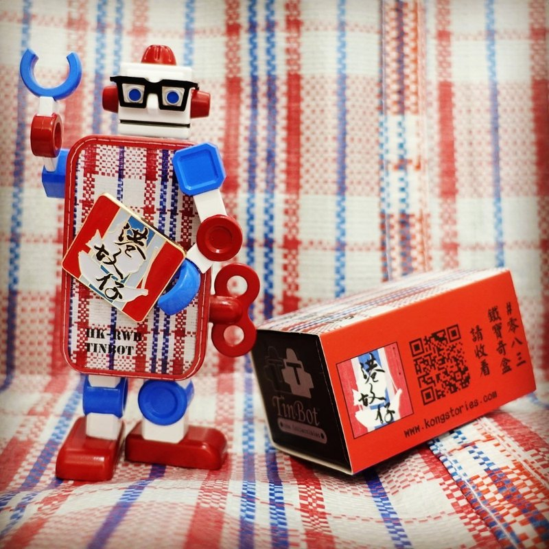 Red White Blue TinBot