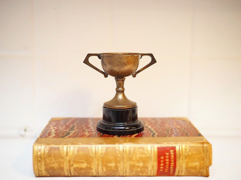 British antique trophy collection small C