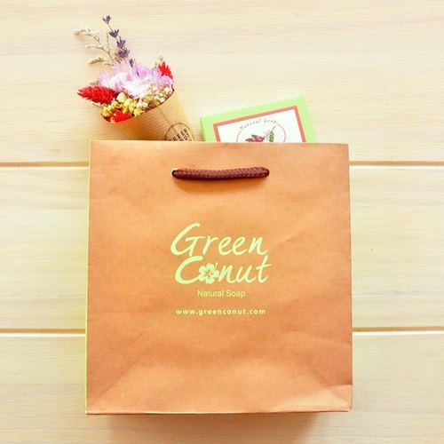 《GREEN CONUT》Romantic Gifts / soap + flower bouquet (dried)