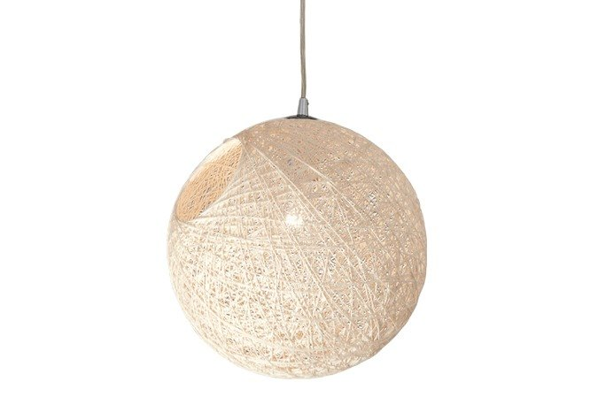 Japanese style hemp chandelier (large)