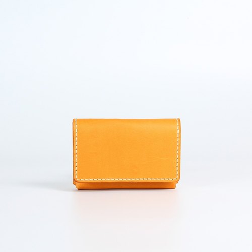 【Genkuan hand creation】 DIY sets of three-dimensional incremental business card holder (pieces with punch) PKIT AS009 hand leather leather bag