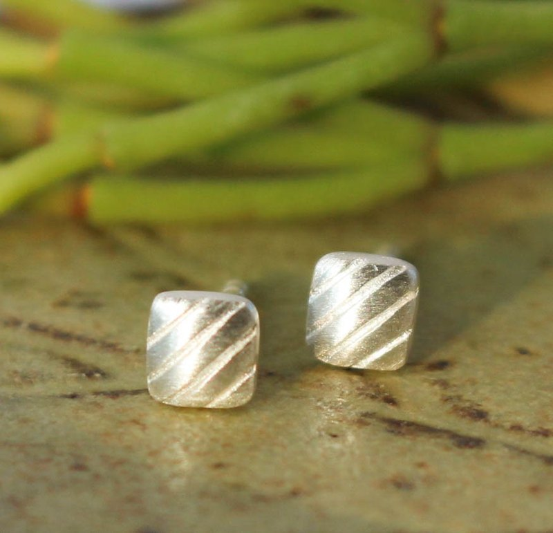 Cookie - Silver Earrings / Sterling Silver / Earrings