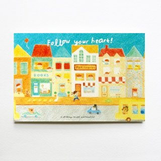 Follow your heart Postcard