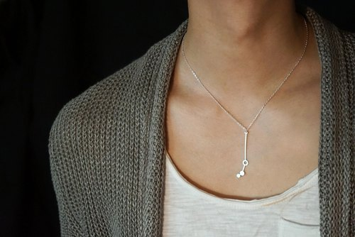 Aries Necklace | Zodiac Necklace | Birthday | March | April | Star Sign