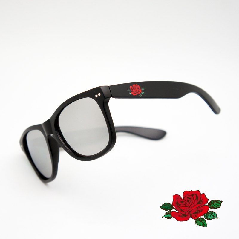 BLR sunglasses Rose MatteBlack‬