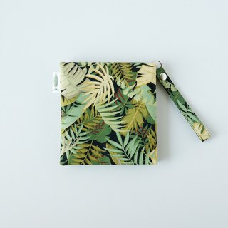 / Jungle Adventure // Girl physiological cotton bag / portable paper storage