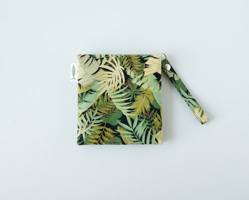 / Jungle adventure / / girl physiological cotton bag / portable paper storage
