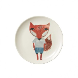 Fox Stripe plate