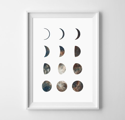 Galaxy (2) Customizable Hanging Poster