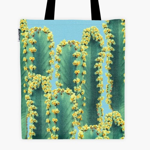 Filament - Shopping Bag - Adorned Cactus V2