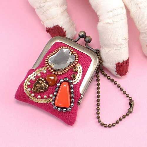 tiny purse for rings and pill,coins,accessories,bag charm purse 18