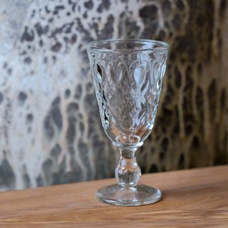 Lyon glass goblet