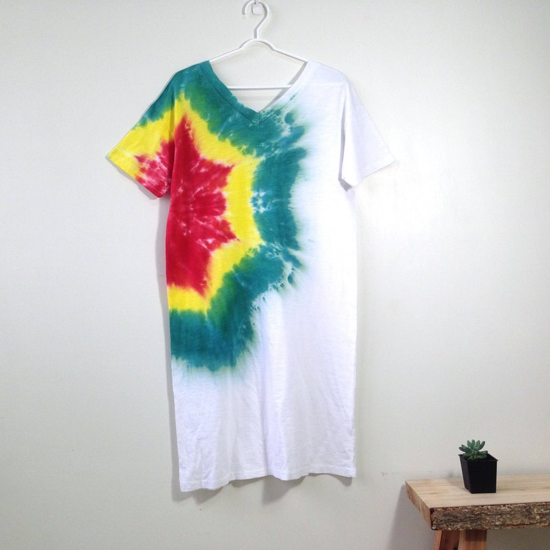 100% Cotton Tie-dye One piece