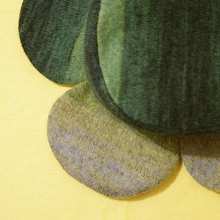 Giz Green-Gradient Wool Fisherman Hat