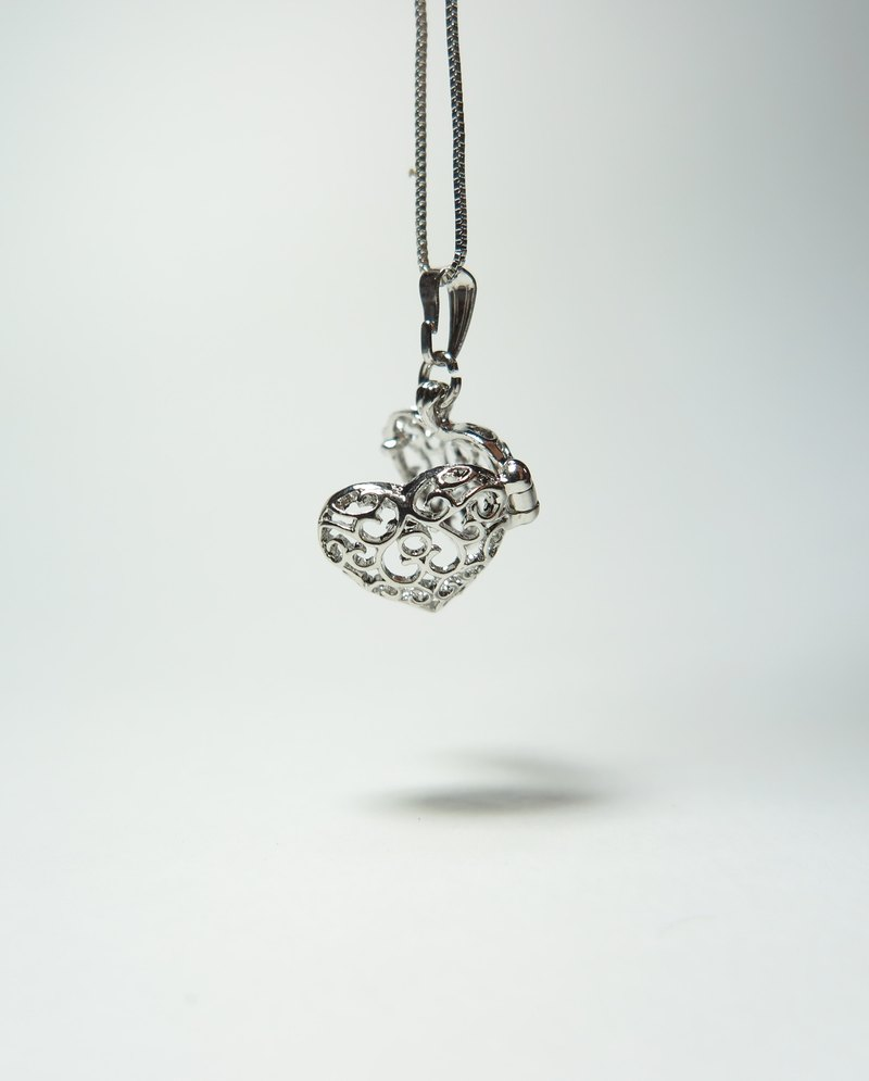 Goody Bag - Neve Jewelry Heart Necklace Mini Necklace (Silver)