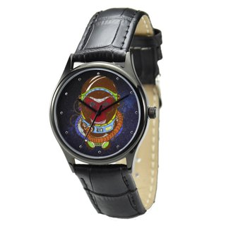 Animal (Monkey) illustration Watch Black Unisex Free Shipping Worldwide
