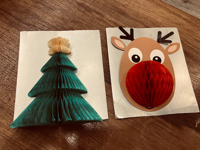 Christmas decoration, Christmas tree, elk organ style three-dimensional wall decoration