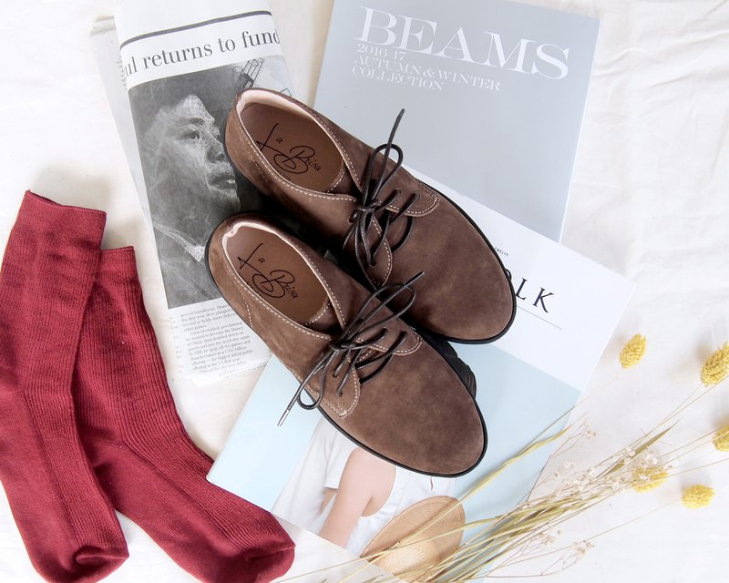 Nubuck Leather Desert Boots (Coffee)