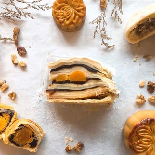 [花漾朋派] Mid-Autumn moon cakes (six layers)