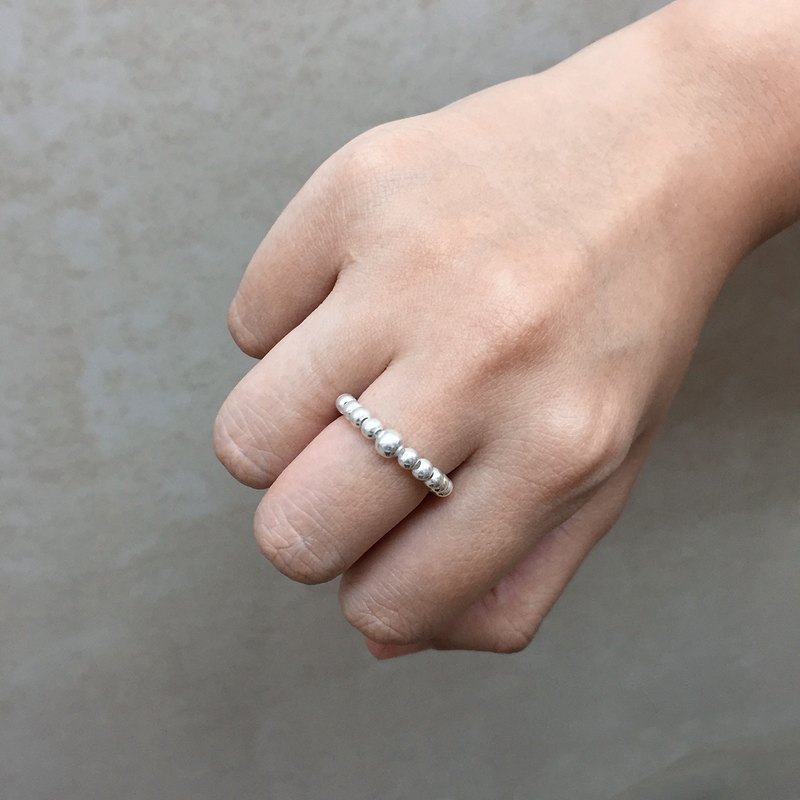 Ball Ring | Sterling Silver Ball Ring | Ring of Love