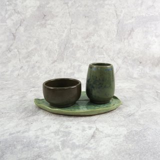 Tim Hing kiln / classic burn smell the cup (dark green)