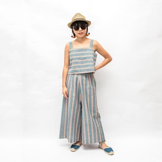TOMÁS 2-Piece Matching Set - Summer Stripes