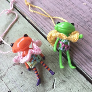 Wonder frog Little Frog handmade lace braided flower straps six colors to choose from
