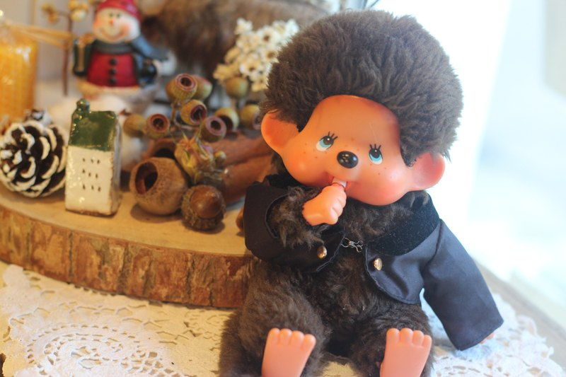 Good day fetish Germany VINTAGE tuxedo dream odd odd / Qiqiqi / Christmas decorations / gifts / Christmas atmosphere / MONCHHICHI / antiques collection / boys