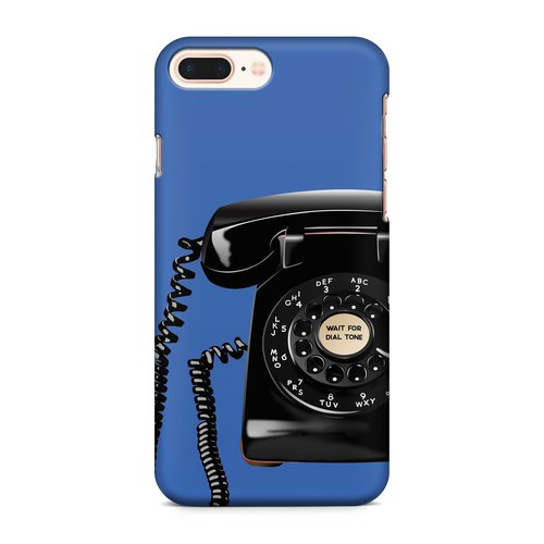 Telephone - blue Phone case