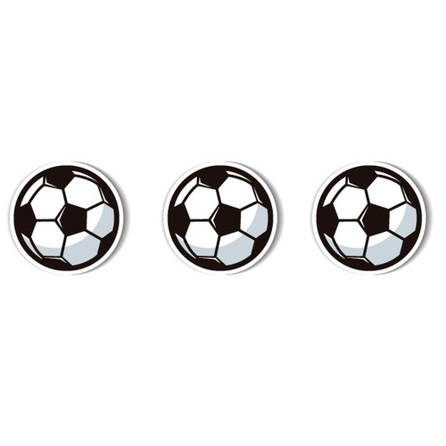1212 fun design funny everywhere posted waterproof stickers - football