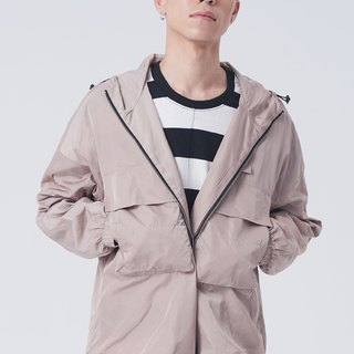Hooded casual windbreaker jacket #9170